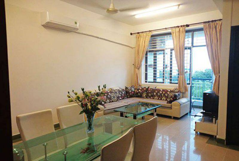 Airy apartment for rent in district 10 Ho Chi Minh city Ba Thang Hai street 0
