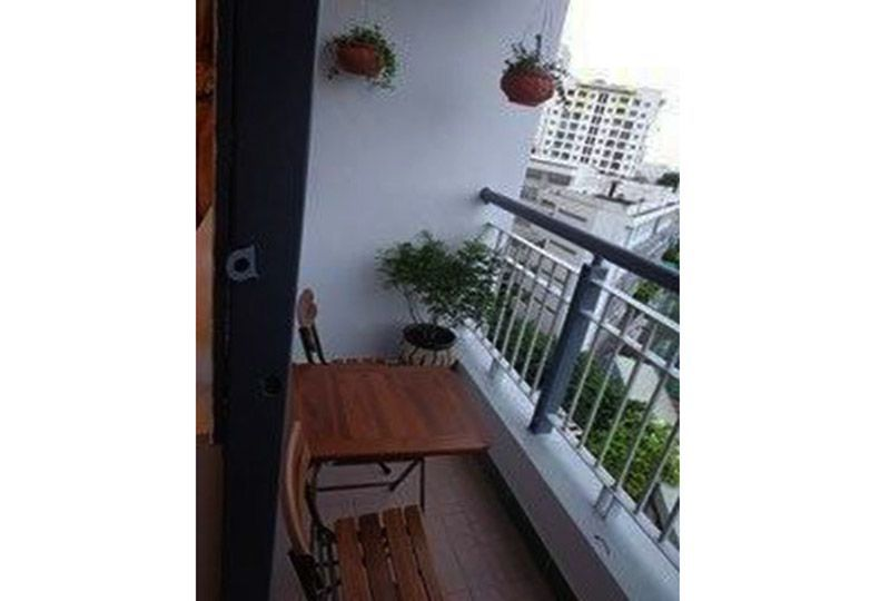 Airy apartment for rent in district 10 Ho Chi Minh city Ba Thang Hai street 1