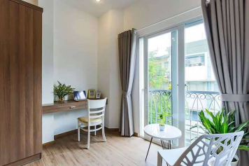 Airy serviced apartment in Tan Dinh area District 1 Ho Chi Minh for rent