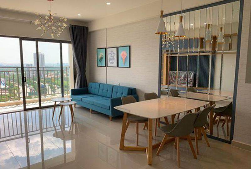 Apartment for lease on The Sun Avenue in District 2 Ho Chi Minh City 0
