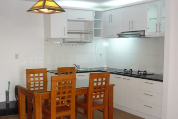Apartment for rent in 4S1 Riverside Pham Van Dong street Thu Duc District .