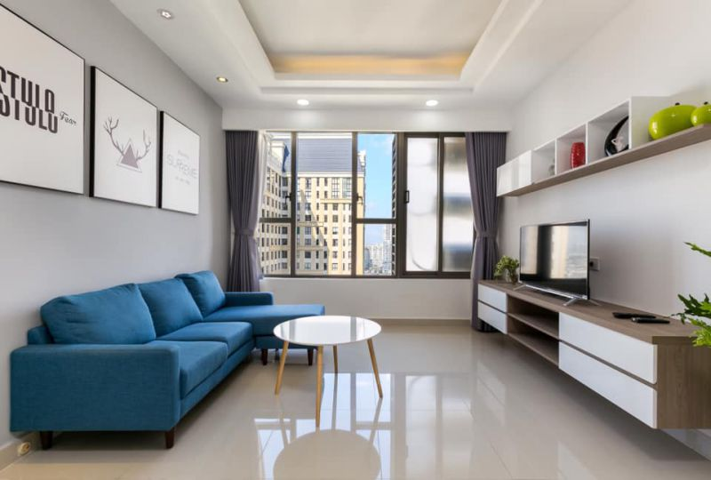 Apartment for rent in District 4 - The Tresor Apartment building