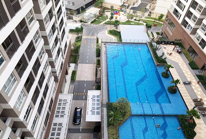 Apartment for rent in Golden Mansion apartment Phu Nhuan district 8