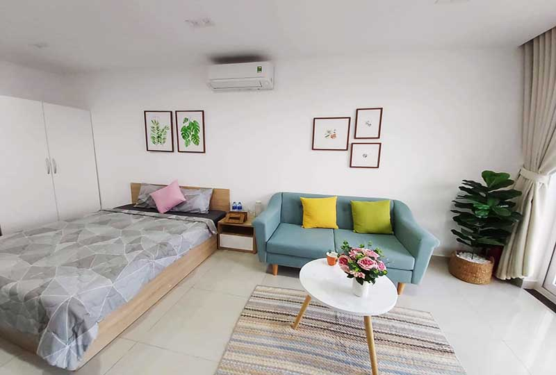 Apartment for rent in Phu Nhuan Dist - Sky Center Building