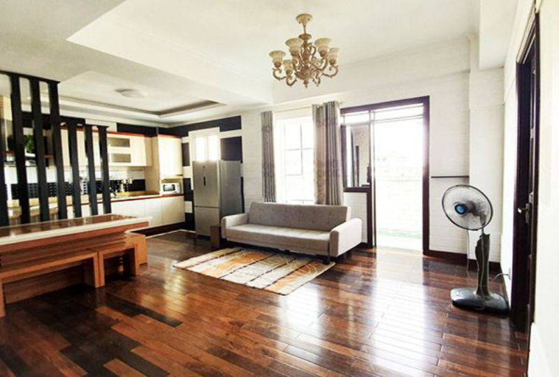 Apartment for rent on CMT8 street district 3 Ho Chi Minh city 1