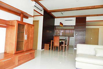 Brand new apartment for rent in The Vista building, An Phu ward , district 2, HCMC.