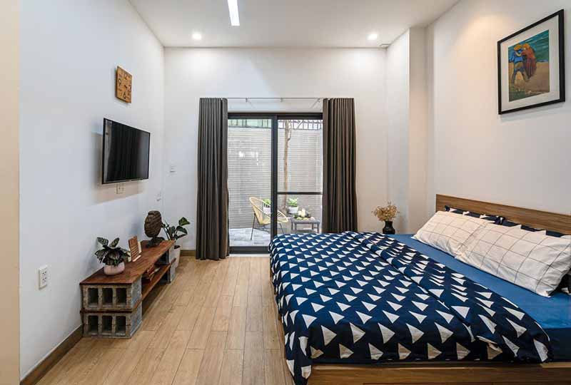 Bright studio serviced apartment in Binh Thanh Dist for rent 4