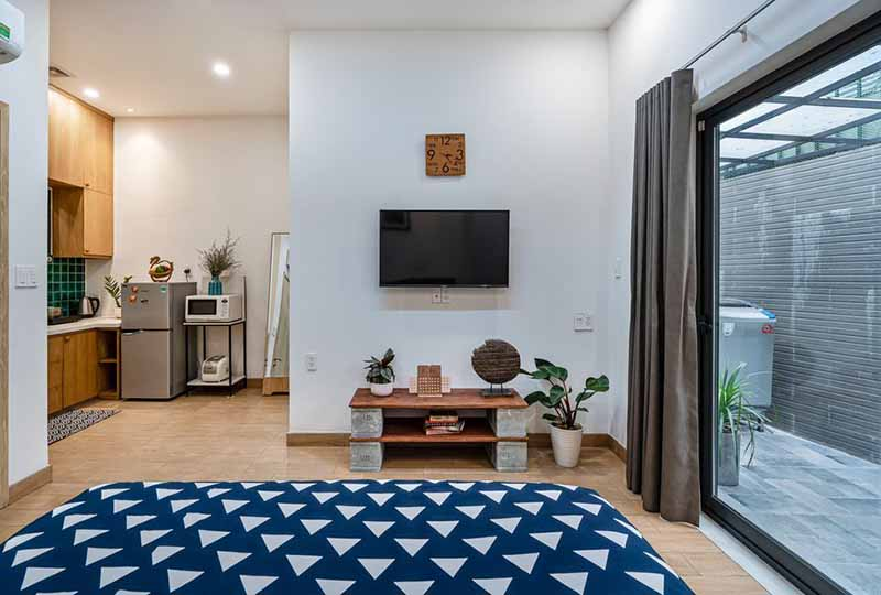 Bright studio serviced apartment in Binh Thanh Dist for rent 10