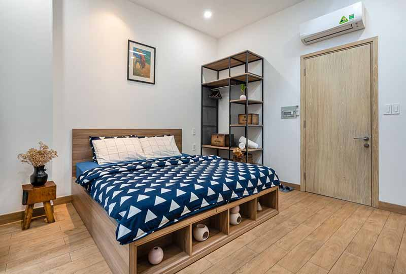 Bright studio serviced apartment in Binh Thanh Dist for rent 9