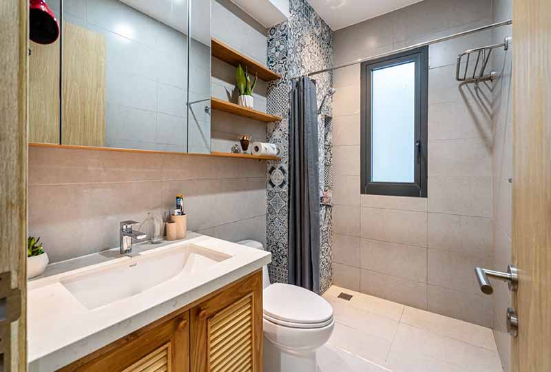 Bright studio serviced apartment in Binh Thanh Dist for rent 8