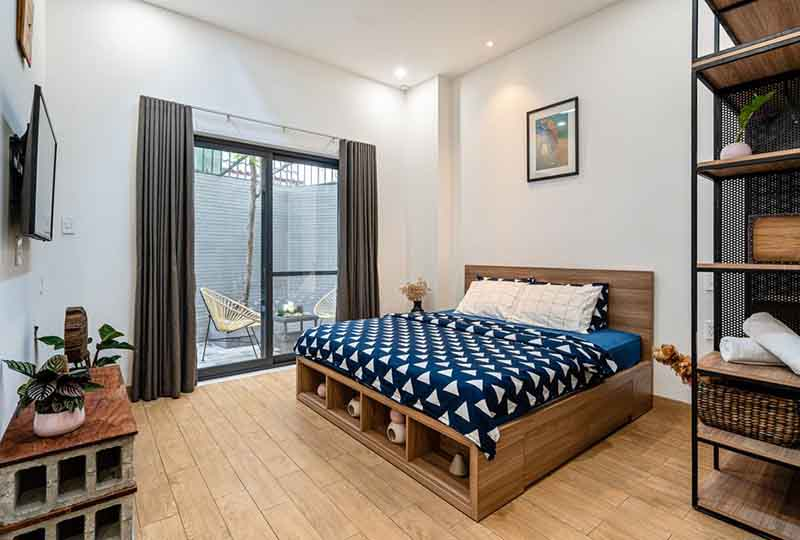 Bright studio serviced apartment in Binh Thanh Dist for rent 5