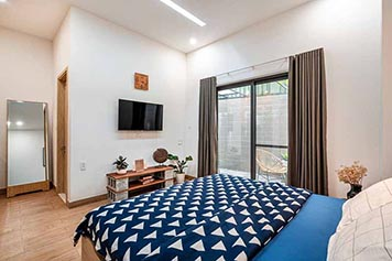 Bright studio serviced apartment in Binh Thanh Dist for rent