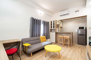 Cozy serviced apartment renting in Binh Thanh Dist, Pham Viet Chanh St