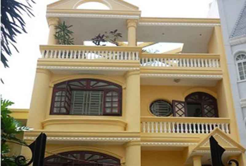 House for rent on Nguyen Huy Tuong street Binh Thanh district