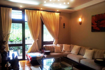 House for rent on Xo Viet Nghe Tinh street Binh Thanh District .