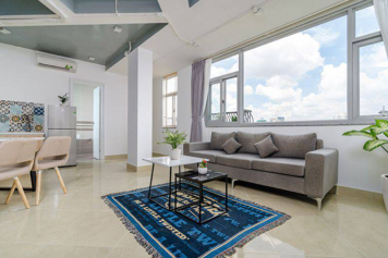 Luxury Penthouse serviced apartment for lease in Truong Sa street HCMC