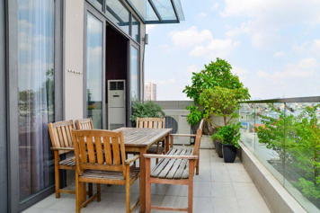 Luxury penthouse apartment for rent in Ho Bieu Chanh - Phu Nhuan Dist