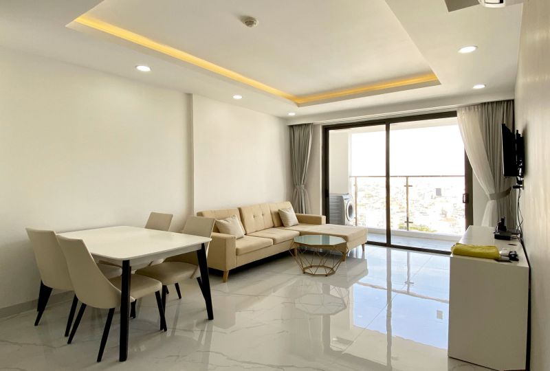 Nice apartment for rent on The Kingston Residence Phu Nhuan Dist 0