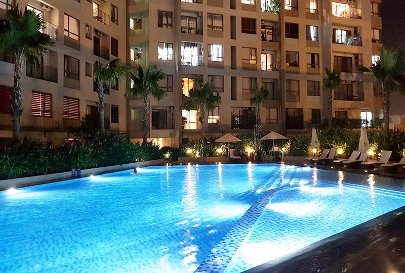 Nice apartment in district 2 for lease long-term on Masteri Thao Dien flat 15