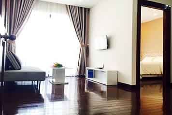 Nice serviced apartment for rent in Nguyen Cu Trinh - district 1 - Style 2