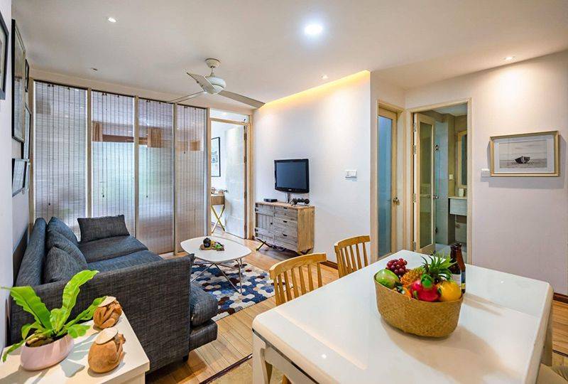 Nice serviced apartment for rent on Nguyen Van Troi street Phu Nhuan Dist 1