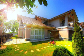 Nice villa for rent in Thao Nguyen Sai Gon District 9 .