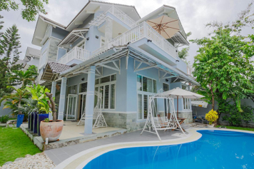 Nice villa for rent in Saigon , Thao Dien 1 compound , Nguyen Van Huong street , district 2 .