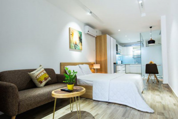 Now leasing a brand-new serviced apartment on Ho Hao Hon street District 1