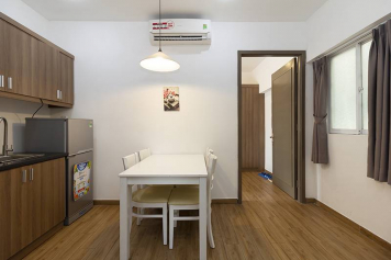 Now leasing a serviced apartment in on Tran Nhat Duat street Tan Dinh ward District 1