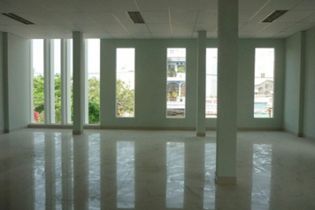 Office for rent on Nguyen Thi Thap street district 7 HCMC .