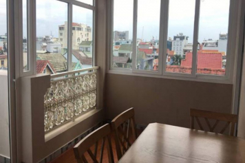 One bedroom serviced apartment for lease in Tan Binh district .