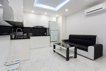 Service apartment for rent on district 3 , Ho Chi Minh city , Nguyen Van Troi street.