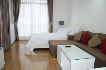Serviced apartment for lease in Au Duong Lan street, district 8, Ho Chi Minh city.