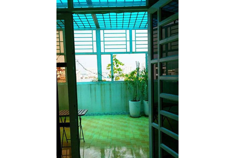 Serviced apartment for lease in Binh Thanh dist - Nguyen Huu Canh street 7