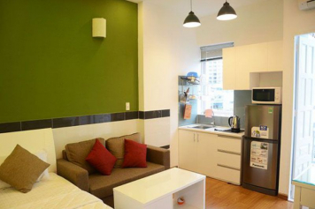 Serviced apartment for lease in district 8, Ho Chi Minh city, Au Duong Lan street.