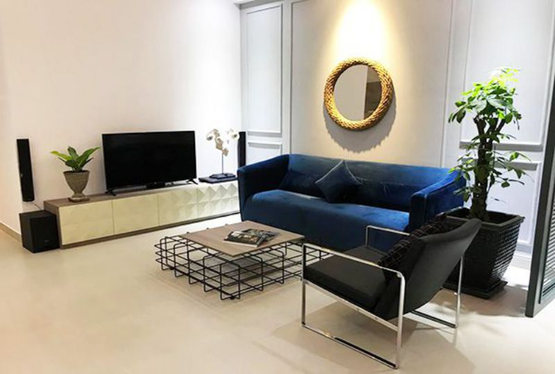 Serviced apartment for lease on Khanh Hoi street District 4 Ho Chi Minh city 0