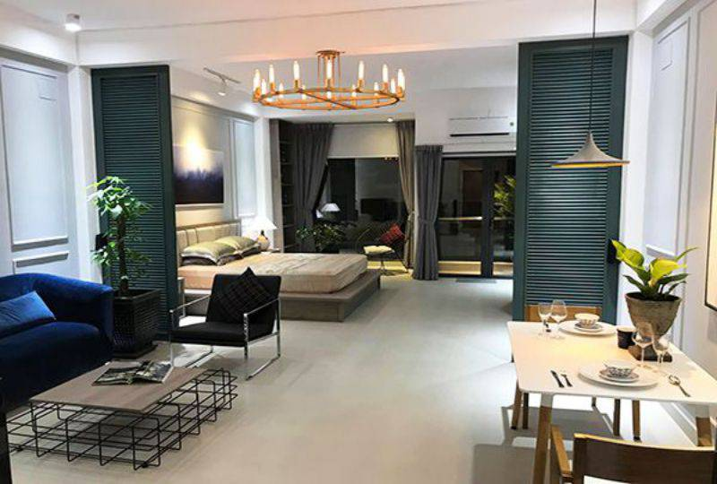 Serviced apartment for lease on Khanh Hoi street District 4 Ho Chi Minh city 1