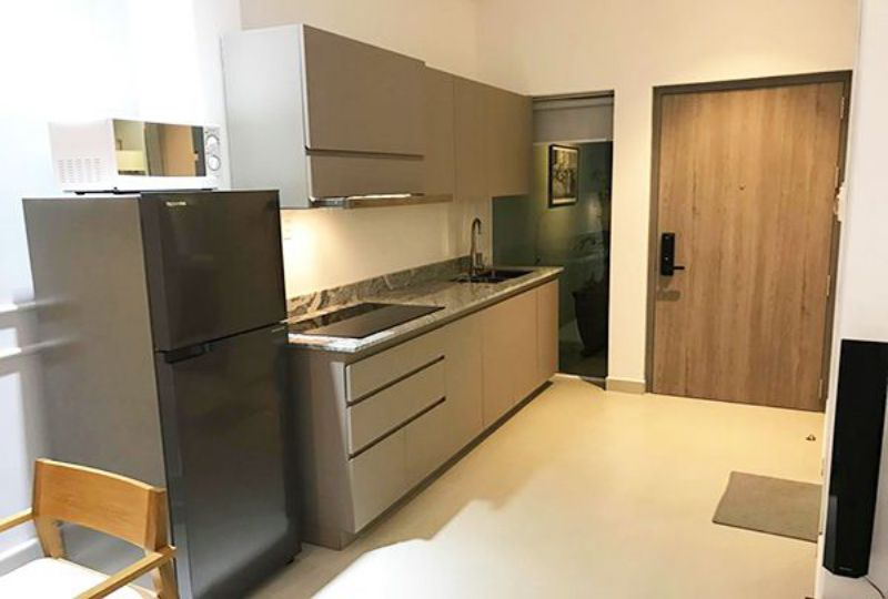 Serviced apartment for lease on Khanh Hoi street District 4 Ho Chi Minh city 10