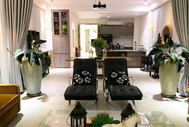 Serviced apartment for lease on Khanh Hoi street District 4 Ho Chi Minh city 5