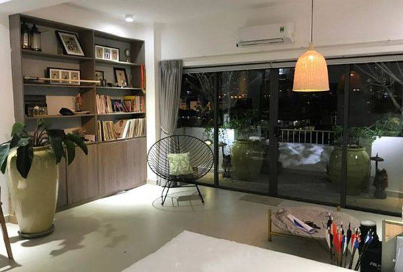 Serviced apartment for lease on Khanh Hoi street District 4 Ho Chi Minh city 6