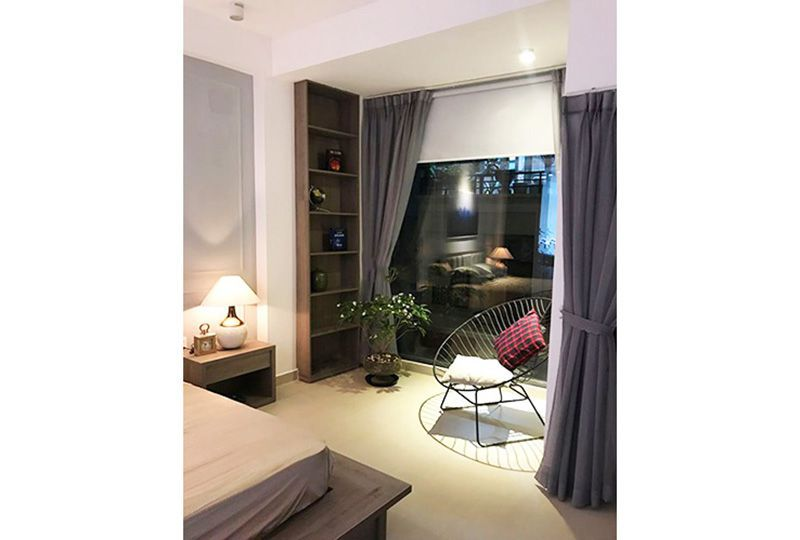 Serviced apartment for lease on Khanh Hoi street District 4 Ho Chi Minh city 9