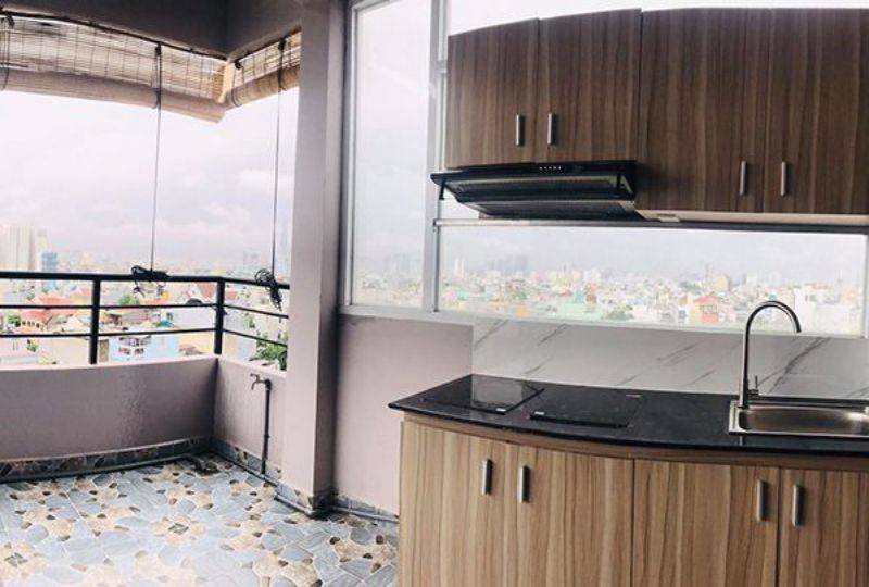 Serviced apartment for rent in Binh Thanh dist Ho Chi Minh City Phan Van Tri street 3