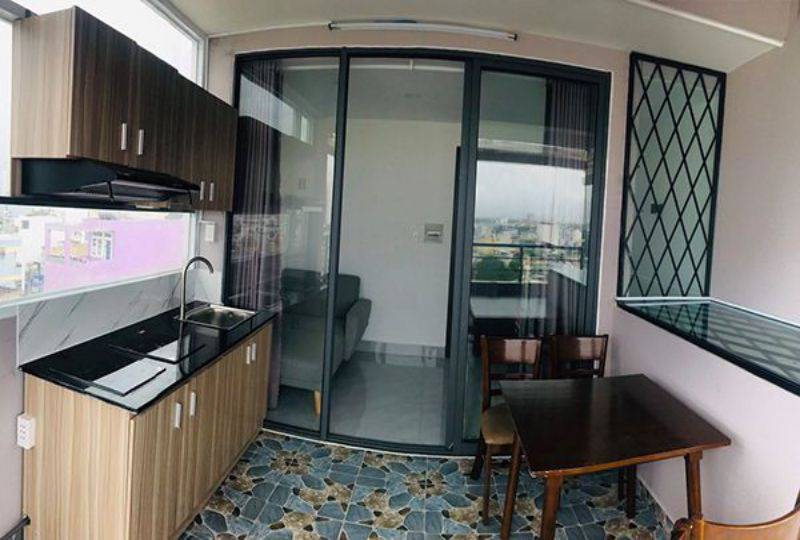 Serviced apartment for rent in Binh Thanh dist Ho Chi Minh City Phan Van Tri street 5
