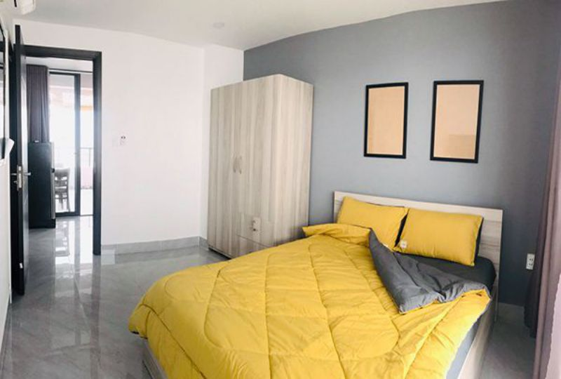 Serviced apartment for rent in Binh Thanh dist Ho Chi Minh City Phan Van Tri street 6