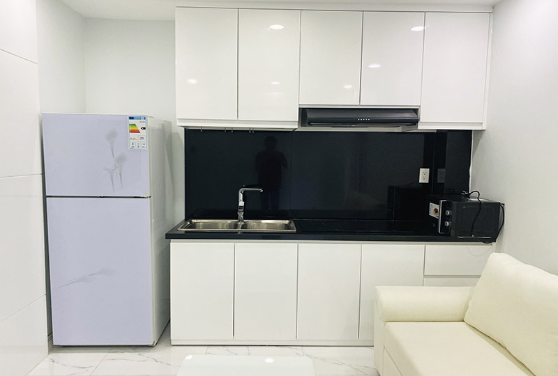 Serviced apartment for rent in Binh Thanh district on Nguyen Duy street 6
