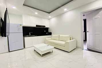 Serviced apartment for rent in Binh Thanh district on Nguyen Duy street
