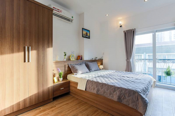 Serviced apartment for rent in District 1 Saigon on Tran Nhat Duat street, Tan Dinh ward