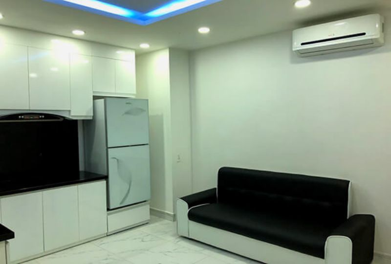 Serviced apartment for rent in district 3 Ho Chi Minh Nguyen Van Troi street 1