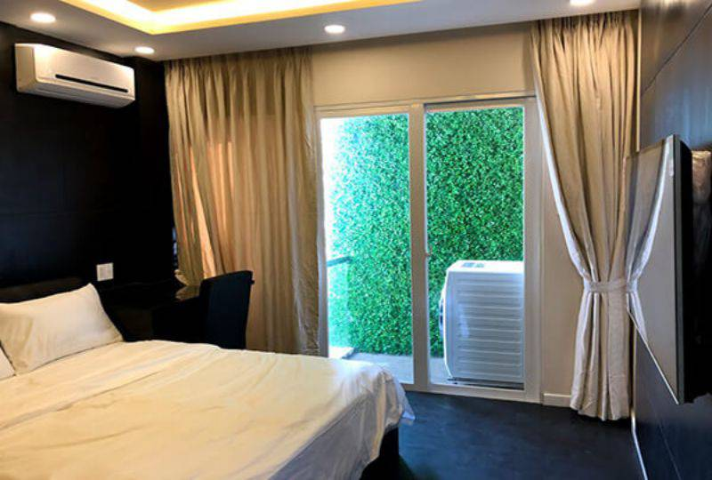 Serviced apartment for rent in district 3 Ho Chi Minh Nguyen Van Troi street 2