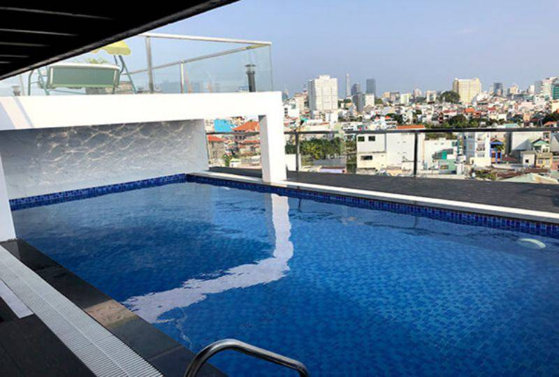 Serviced apartment for rent in district 3 Ho Chi Minh Nguyen Van Troi street 4